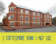 Student housing 1 Cottesmore Road - NG7 1QE