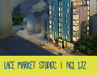 Student rooms Nottingham - Lace Market studios
