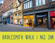 Nottingham student lettings bridlesmith walk