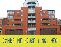 Nottingham student accommodation cymbeline house