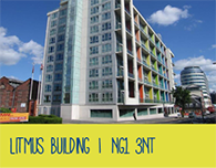 Nottingham Student Accommodation Litmus Building