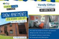 Student accommodation in Clifton open day