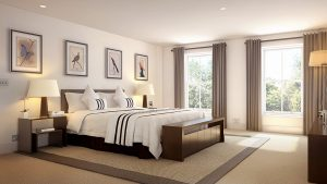 elm house bedroom