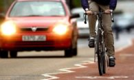 Cycling or using public transport in Nottingham