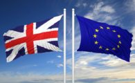 Union Flag & Flag of the European Union