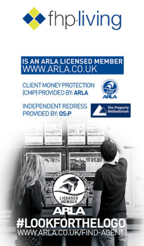 ARLA licenced letting agent