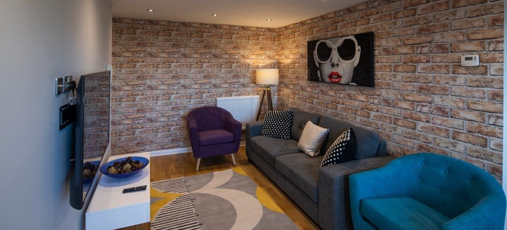loung room at varsity student accommodation nottingham